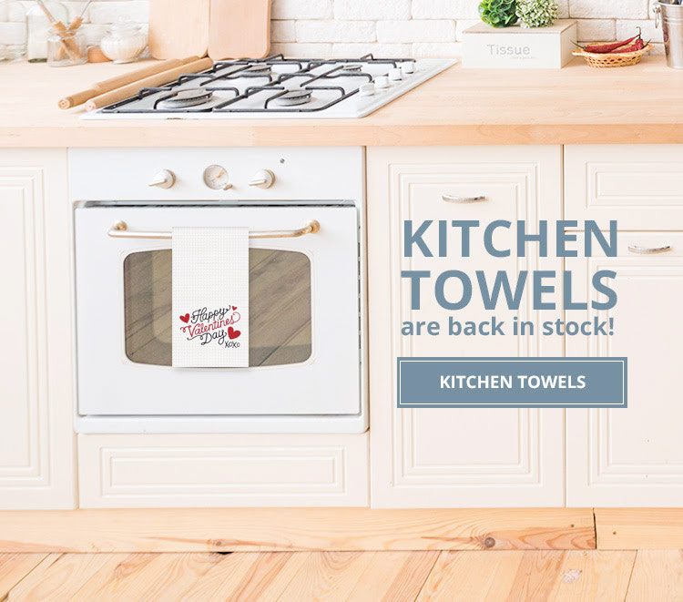 Kitchen Towel hanging on stove
