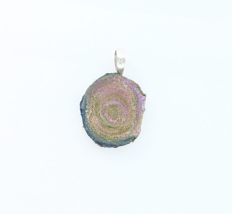 A photo of the Sterling Silver Stone Pendant product