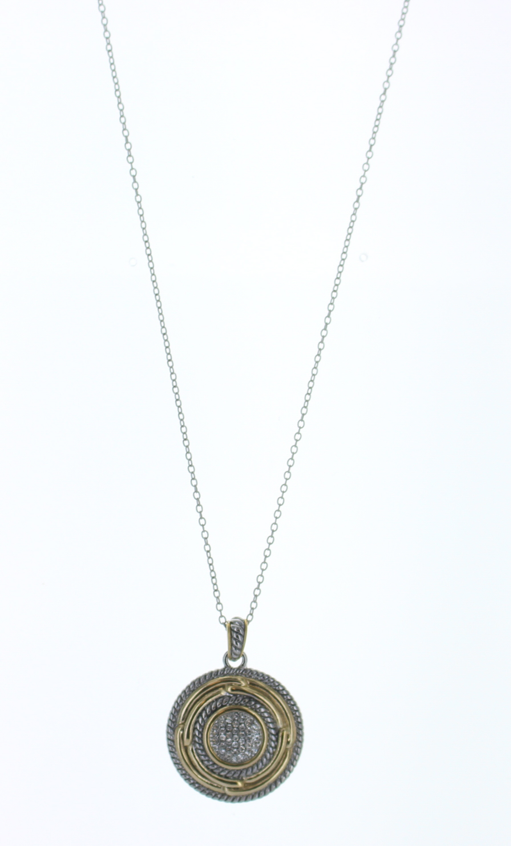 two tone coin necklace best of everything shopping