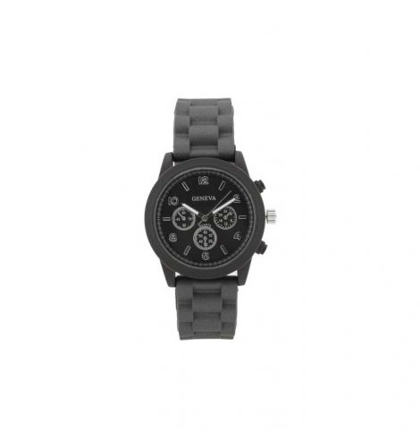 A photo of the Matte Finish Silicone Sport Watch product