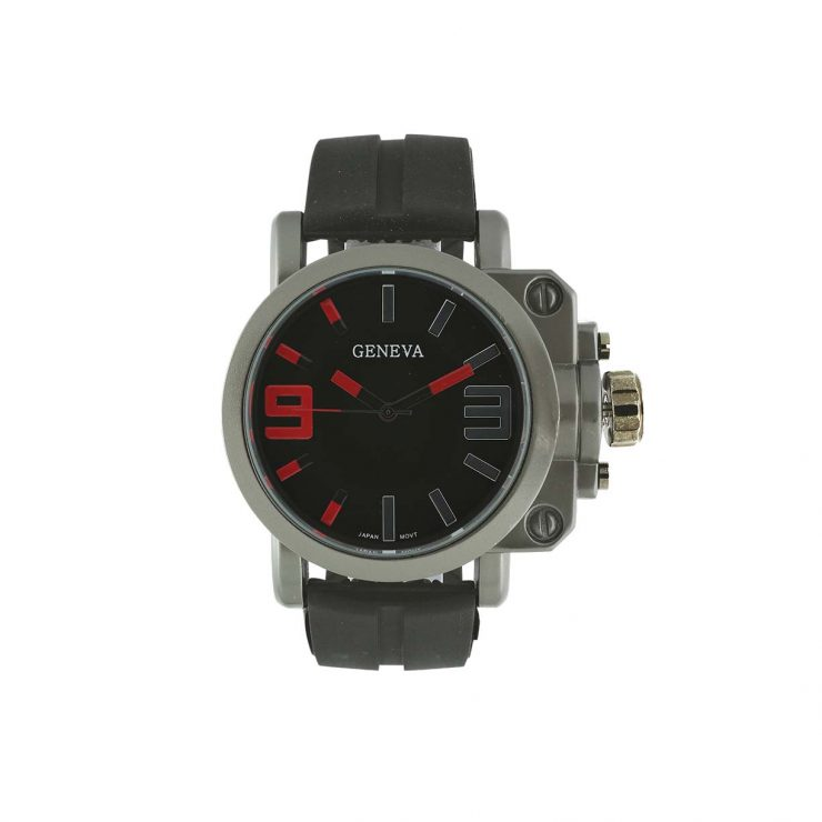 A photo of the Men's Silicone Watch product