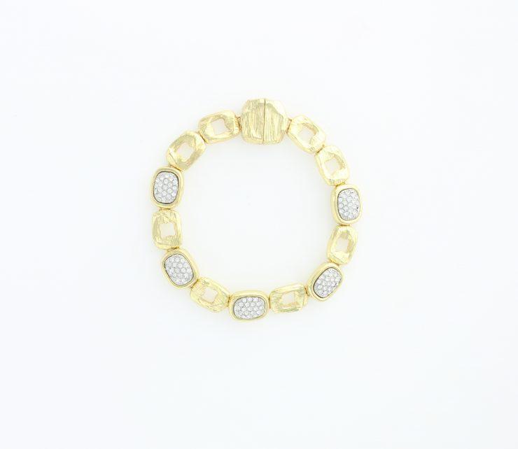 A photo of the Shiny Rhinestone Bracelet product