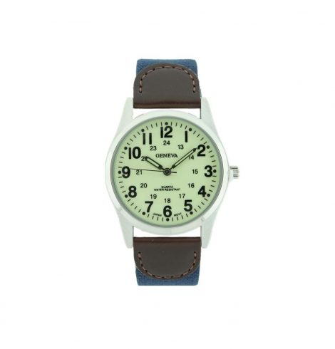 A photo of the Men's Easy Reader Strap Watch product