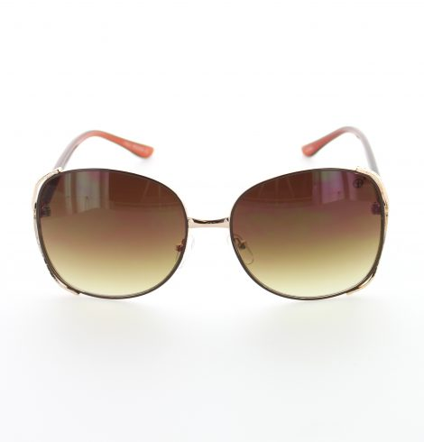 Darkred and gold fashion sunglasses01