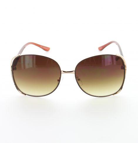 Darkred and gold fashion sunglasses01
