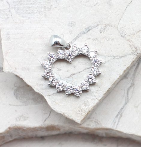 A photo of the The Have My Heart Pendant product