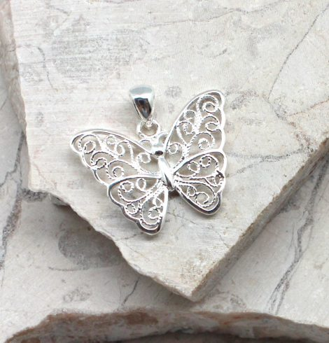 A photo of the The Fly Away Pendant product