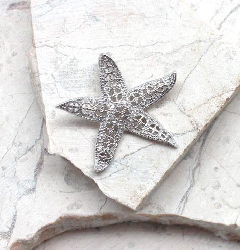 A photo of the The Glitz Starfish Pendant product
