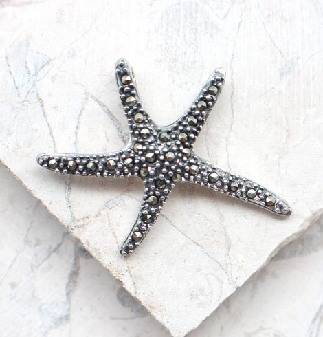 A photo of the The Marcasite Sea Star Pendant product