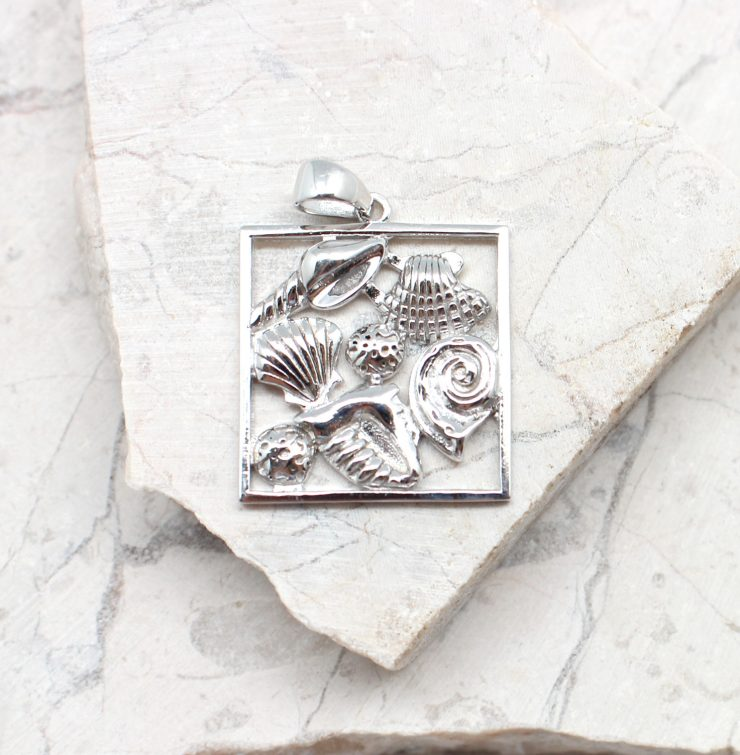 A photo of the The Portrait Of The Sea Pendant product