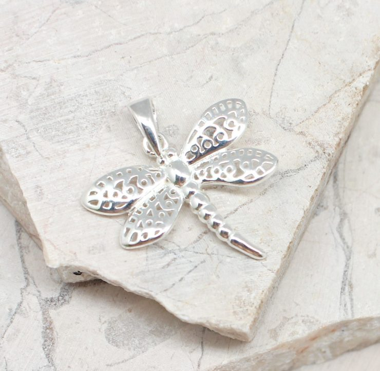 A photo of the The Pretty Dragonfly Pendant product