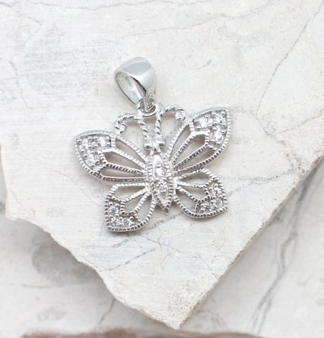 A photo of the The Pretty Wings Pendant product