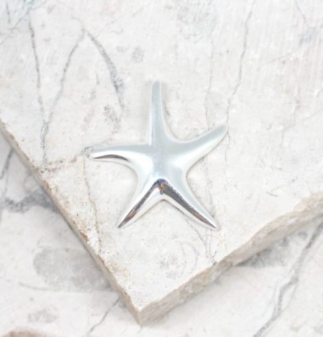 A photo of the The Simple Starfish Pendant product