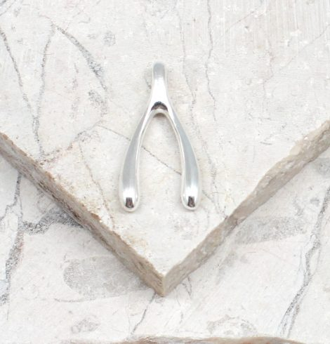 A photo of the The Wishbone Pendant product