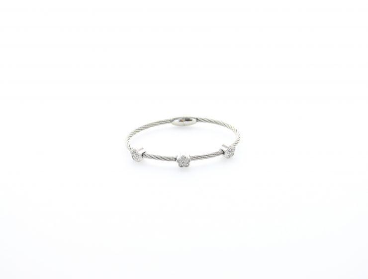 A photo of the X Bangle Bracelet product