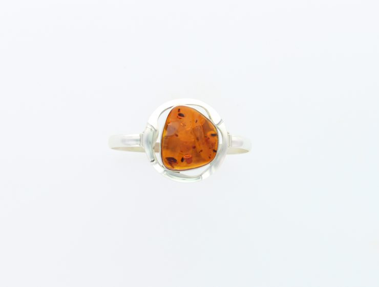 A photo of the 925 Sterling Silver Amber Bracelet product