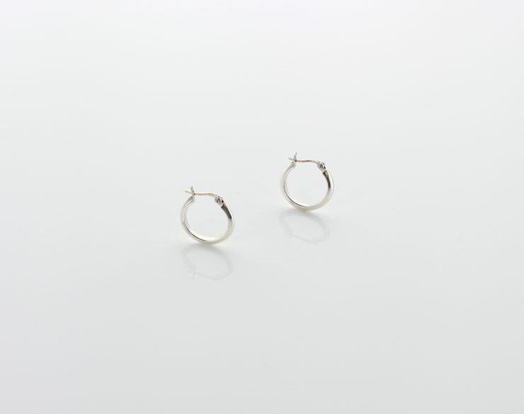 A photo of the 925 Sterling Silver Hoops product