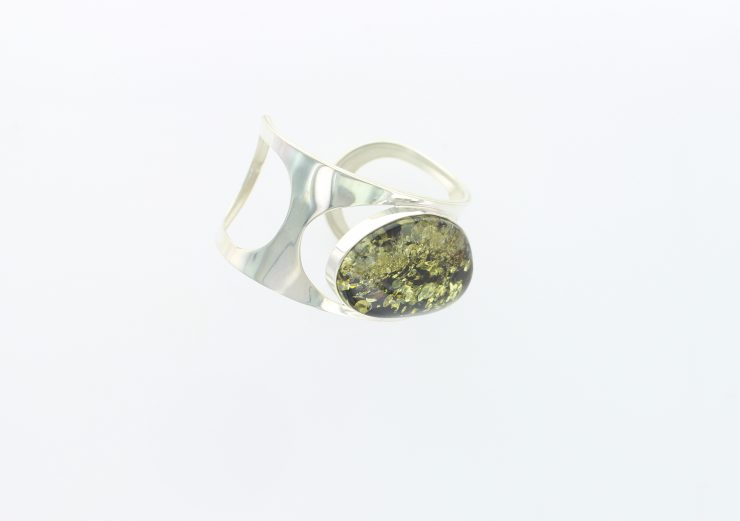 A photo of the 925 Sterling Silver Amber product