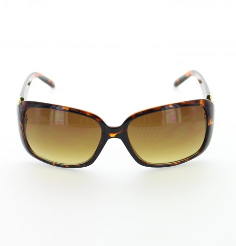 Tortoise Shell Coin Fashion Sunglasses