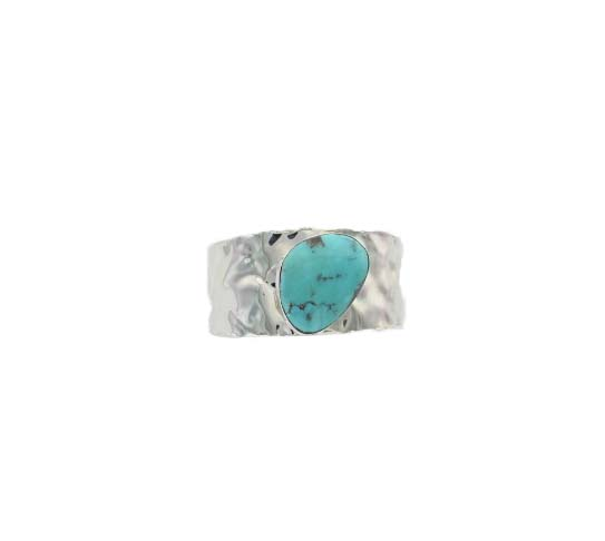 A photo of the 925 Sterling Silver Turquoise Cuff product