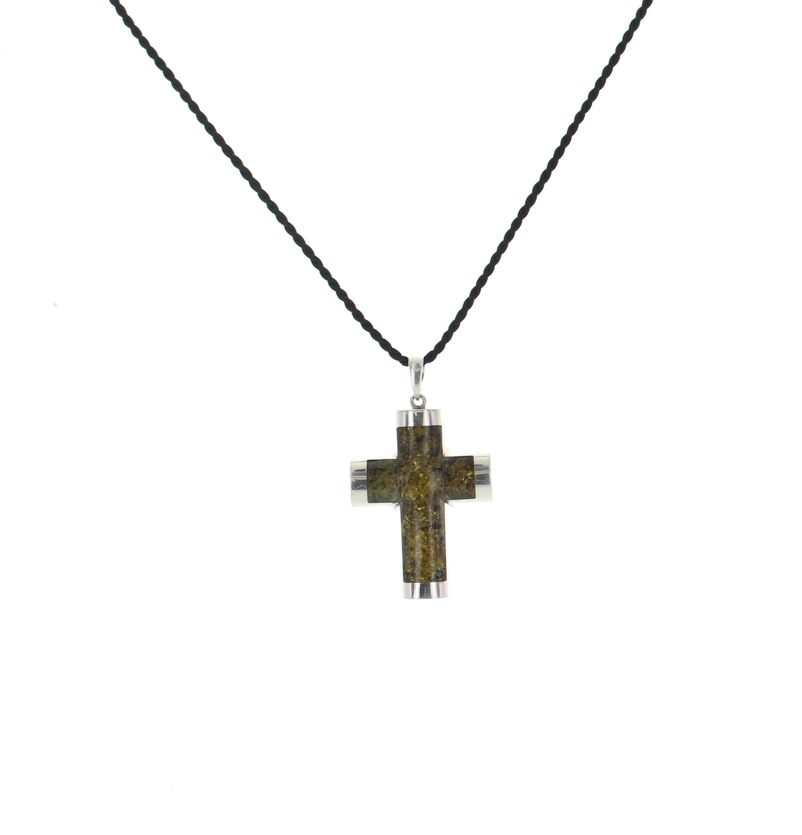 925 sterling silver amber cross pendant best of everything home sterling silver pendants 925 sterling silver amber cross pendant mozeypictures Gallery