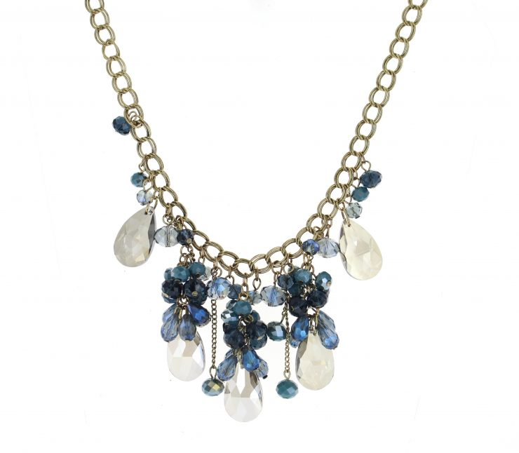 A photo of the Long Chandelier Necklace product