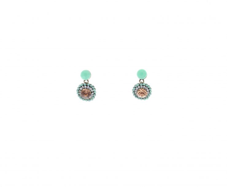 A photo of the Flowery Earrings product