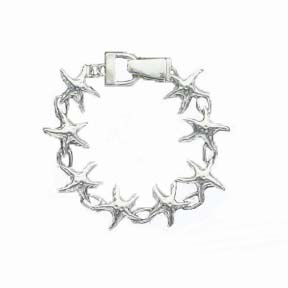 A photo of the Silver Starfish Bracelet product