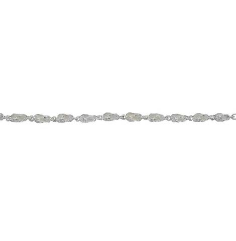 A photo of the Sandal Sterling Silver Bracelet product