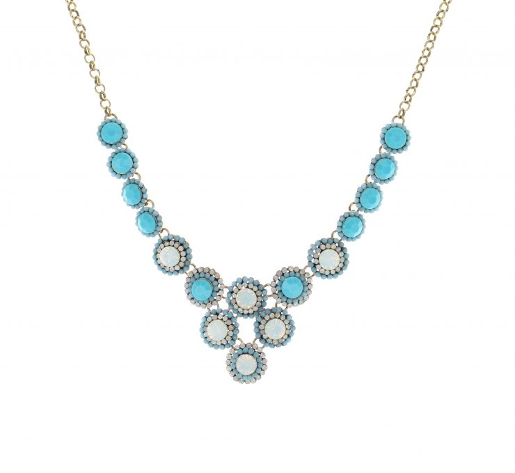 A photo of the Flowery Necklace product
