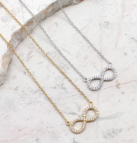 A photo of the The Infinity Sign Necklace product