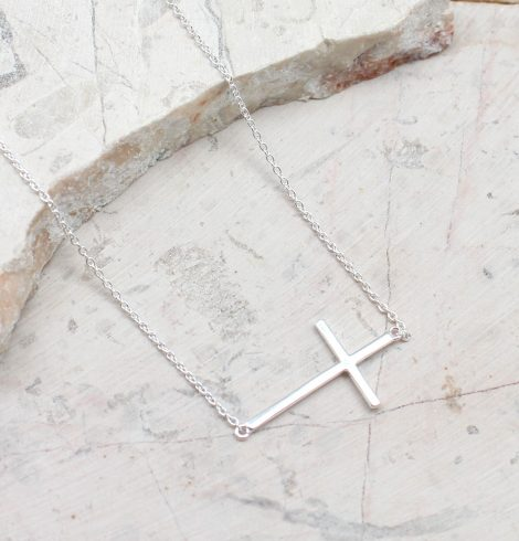 A photo of the Walking With Faith Necklace product