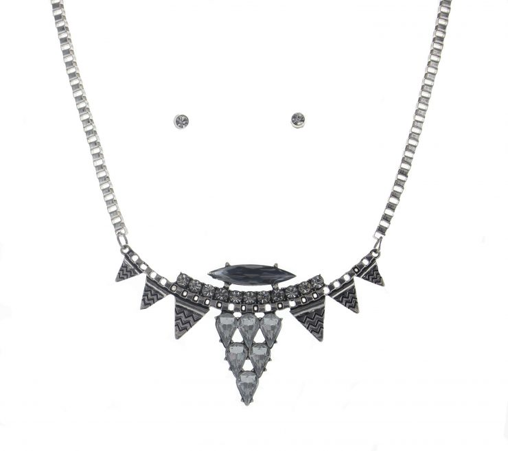 A photo of the Silver Trival Necklace product