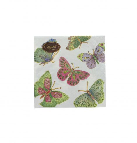 Jeweled Butterflies Napkins
