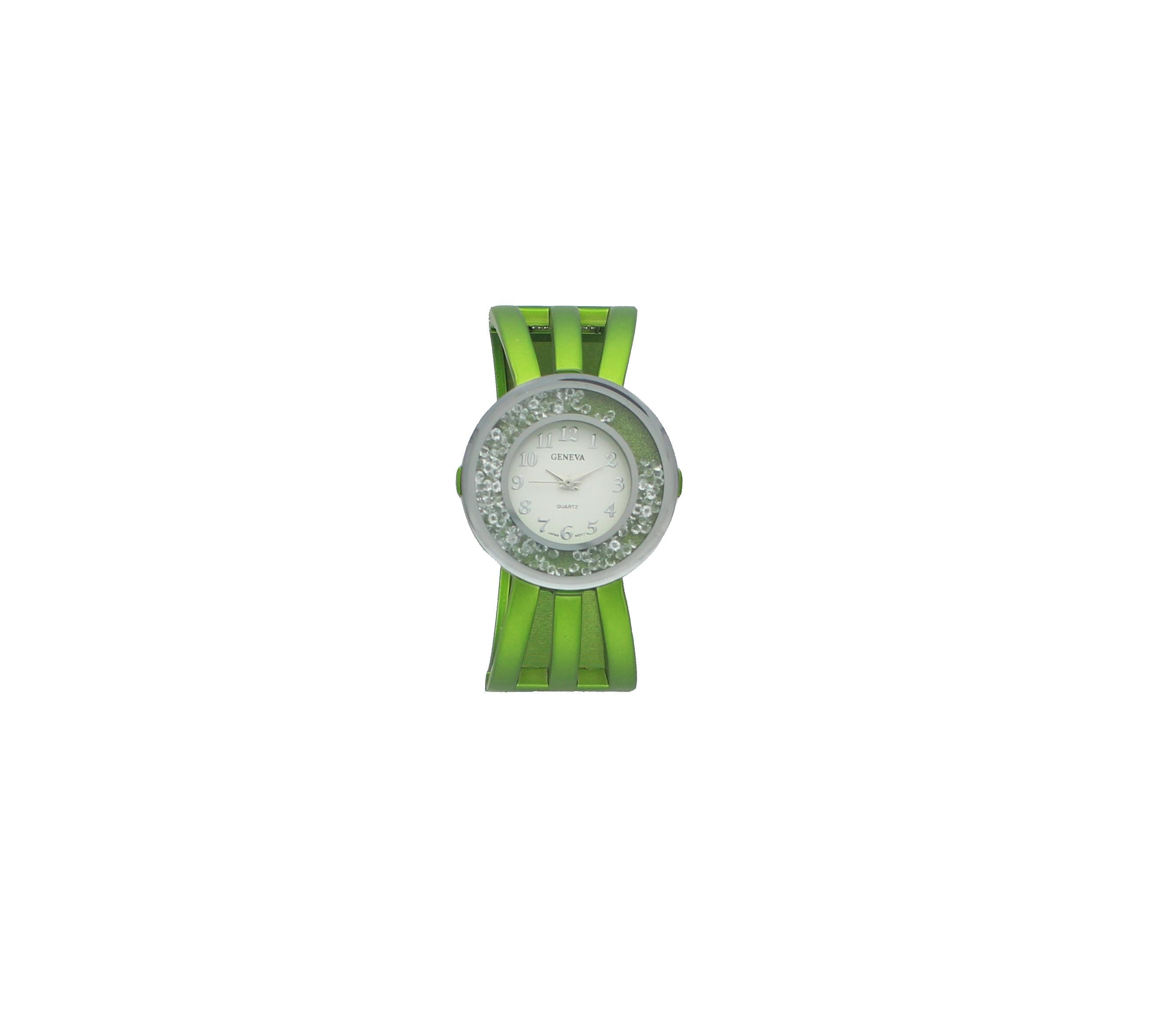 Round Crystal Watch