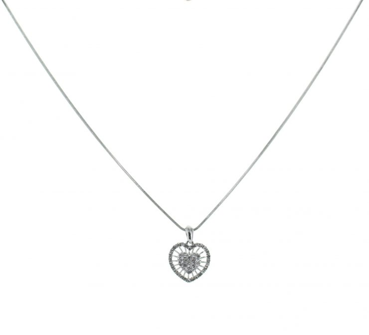 A photo of the Heart Sprite Necklace product