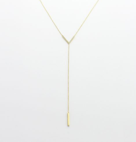 Gold Long Strand Chain