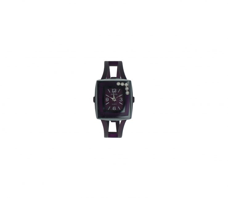 A photo of the Square Face Metallic Watch product
