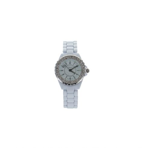 Small Face white Link Watch