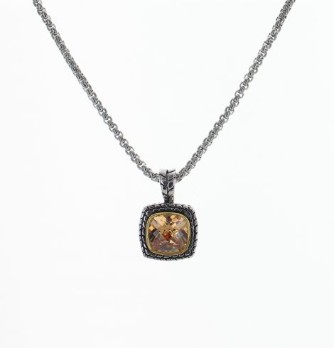 Small Topaz Fashion Pendant