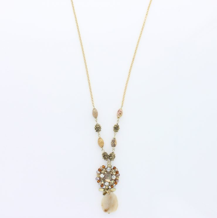A photo of the Double Chain Pearls  product