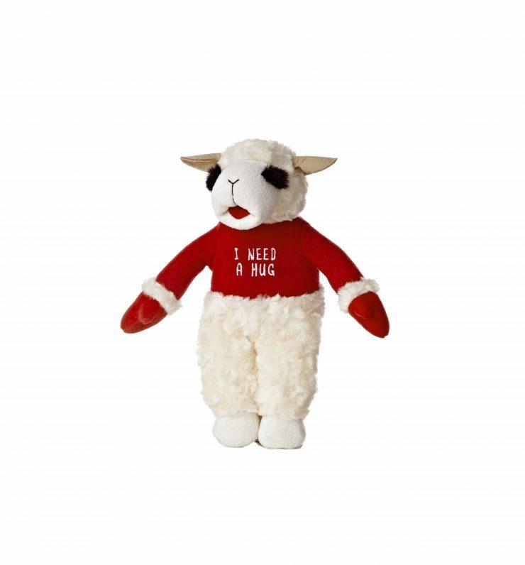 "A photo of the ""I need a hug"" Lamb Chop product"