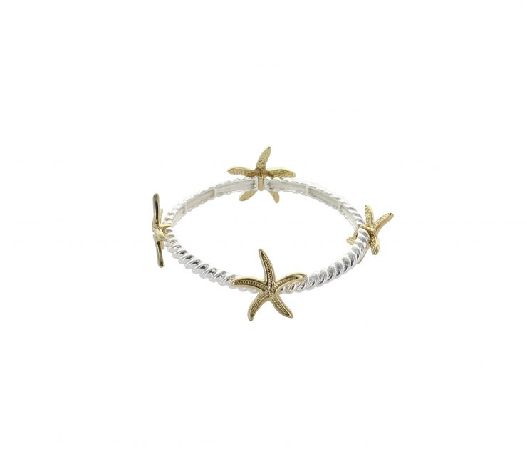 A photo of the Thin Starfish Bracelet product