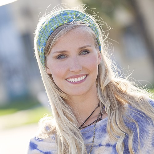 how to wear a bandeau headband