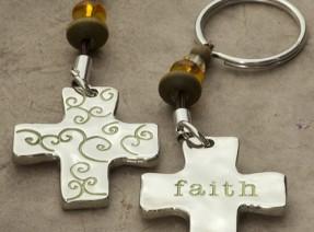 """""""Faith"""" Keychain"""