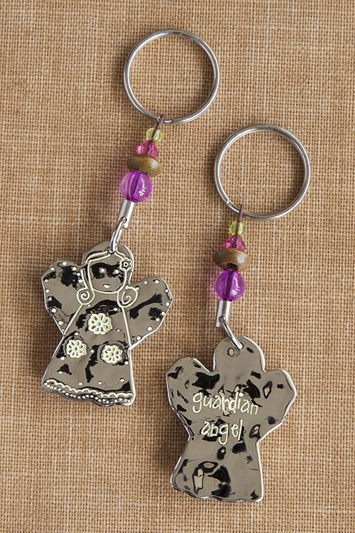 A photo of the Guardian Angel Keychain product