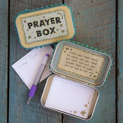 A photo of the Moon & Stars Prayer Box product