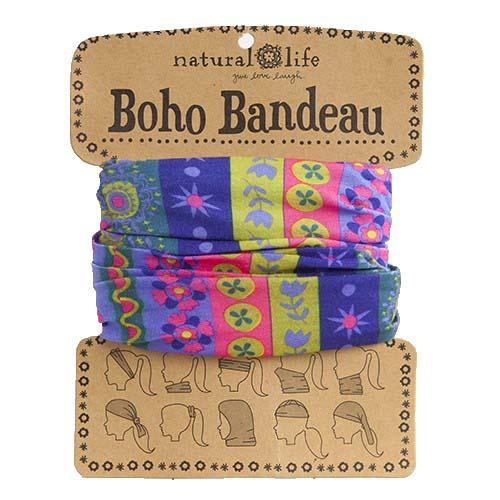 A photo of the Stars & Flowers Boho Bandeau product