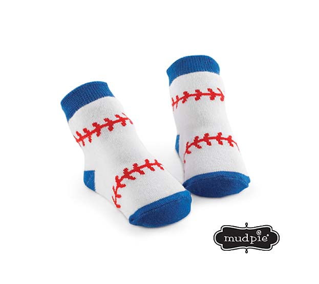A photo of the Mudpie: Baseball Socks product