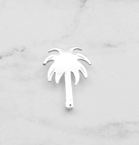 A photo of the Silver Palm Tree Pendant product